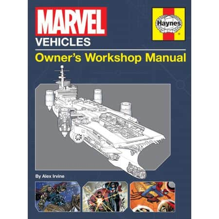 MARVEL VEHICLES MANUAL Revue technique Haynes Anglais