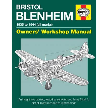 BRISTOL BLENHEIM MANUAL Revue technique Haynes Anglais