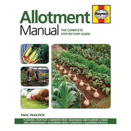 Allotment Manual paperback Revue technique Haynes Anglais