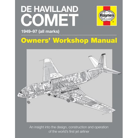 De Havilland Comet Manual Revue technique Haynes Anglais