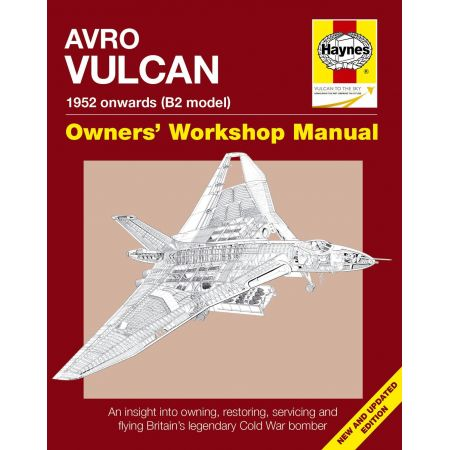 AVRO VULCAN MANUAL NEW EDITION Revue technique Haynes Anglais