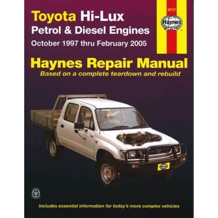 Hi Lux 4x4 4x2 97-05 Revue technique Haynes TOYOTA Anglais