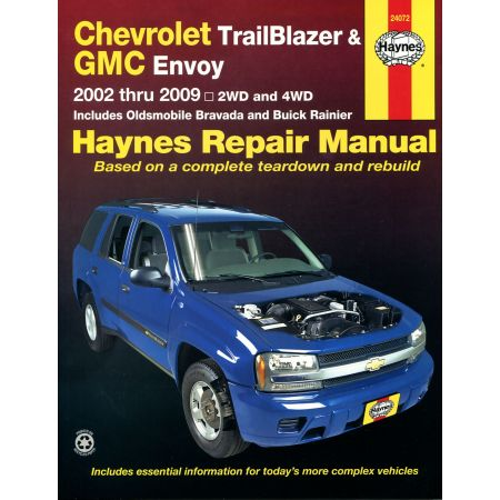 TrailBlazer Envoy Bravada Rainier 02-09 Revues techniques Haynes CHEVROLET GMC BUICK Anglais