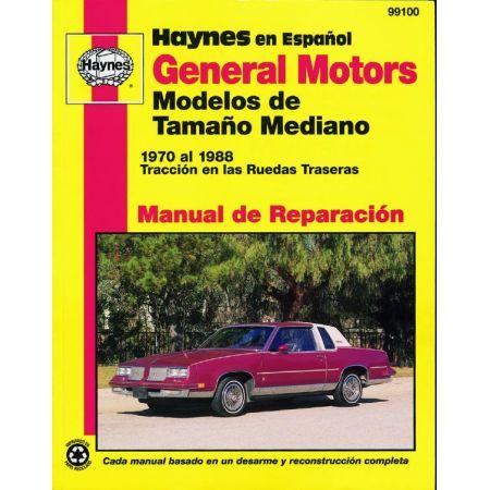 De Tamaa±o Mediano 70-88 Revue Technique Haynes GM Espagnol
