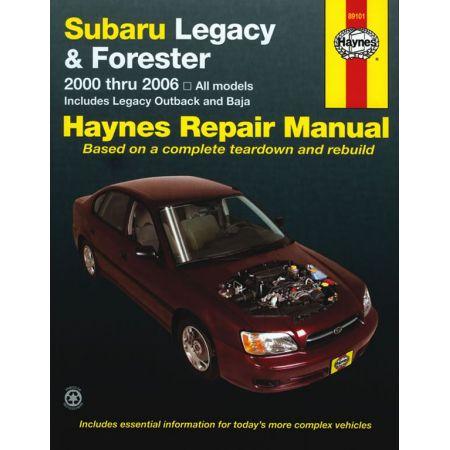Legacy 00-09 - Forester 00-08 Revue Technique Haynes SUBARU Anglais