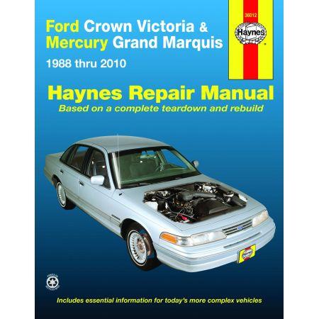 Crown Victoria Grand Marquis 88-11 Revue technique Haynes FORD MERCURY Anglais