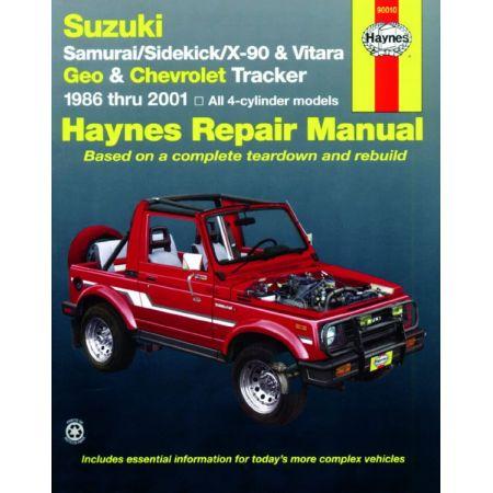 Samouraï Vitara 86-01 Revue Technique Haynes SUZUKI Anglais