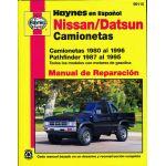 Nissan Datsun Camionetas Manual de Reparacia_n: Camionetas 80 al 96 and Pathfinder 87 al 95 . Todos los model
