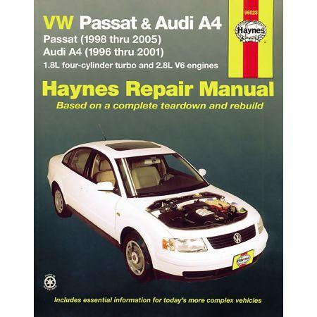 Passat 96-05 - A4 96-01 Revue Technique Haynes VW AUDI Anglais
