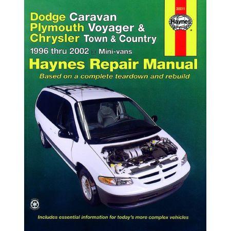 Caravan - Voyager- 96-02 Revue technique Haynes CHRYSLER DODGE PLYMOUTH Anglais