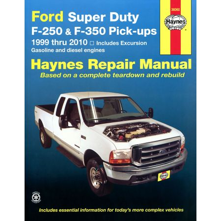 Super Duty Pick-up 99-10 Revue technique Haynes FORD Anglais