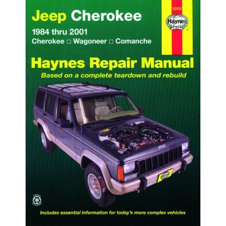 Cherokee Comanche Wagoneer 84-01 evue Technique Haynes JEEP Anglais