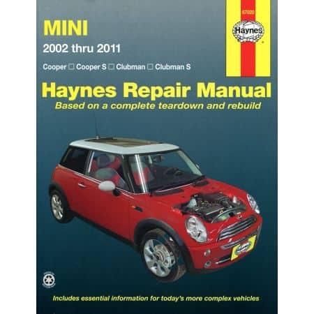 Cooper Cooper S Clubman 02-11 Revue Technique Haynes MINI Anglais