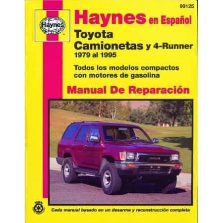 4-Runner 79-95 Revue Technique Haynes TOYOTA Espagnol