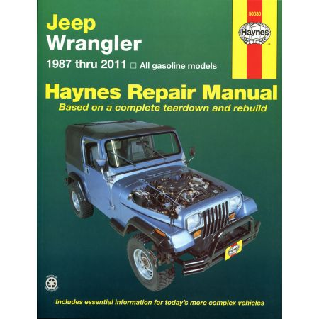 Wrangler 87-11 Revue Technique Haynes JEEP Anglais