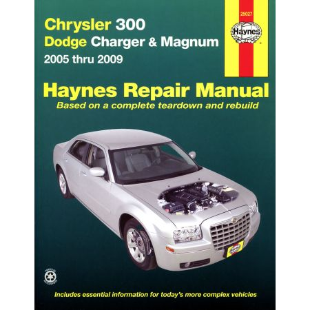 300 05-10 Charger 06-10 Magnum 05-08 Revue technique Haynes CHRYSLER DODGE Anglais