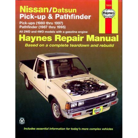Pick-up Pathfinder 80-97 Revue Technique Haynes DATSUN NISSAN Anglais