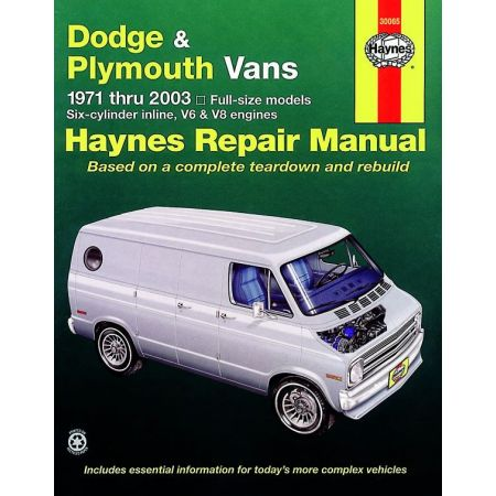 Full-size Vans 71-03 Revue technique Haynes DODGE PLYMOUTH Anglais