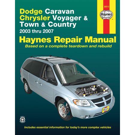 Caravan Voyager 03-07 Revue technique Haynes DODGE CHRYSLER Anglais