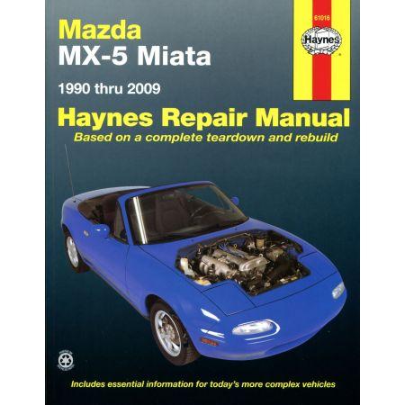 MX-5 Miata 90-14 Revue Technique Haynes MAZDA Anglais