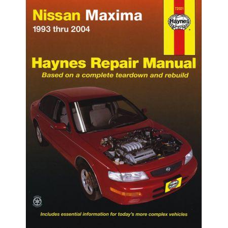 Maxima 93-08 Revue Technique Haynes NISSAN Anglais