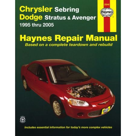 Sebring Stratus 95-06 Revue technique haynes CHRYSLER Anglais