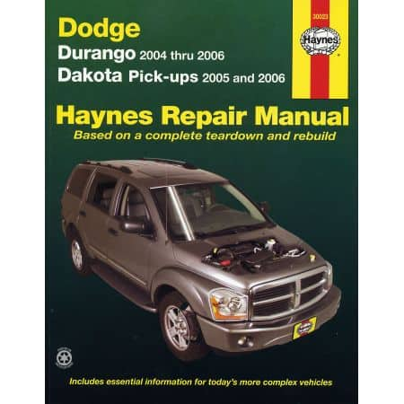 Durango 04-09 - Dakota 05-11 Revue technique Haynes DODGE Anglais
