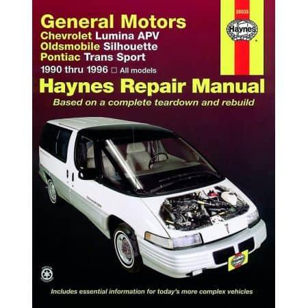 Lumina APV Silhouette Trans Sport Revue techhnique Haynes GM Anglais