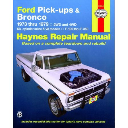 Pick-ups - Bronco 73-79 Revue technique Haynes FORD Anglais