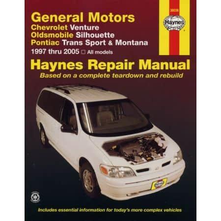 Venture Silhouette Trans Sport Montana Revue technique Haynes GM Anglais