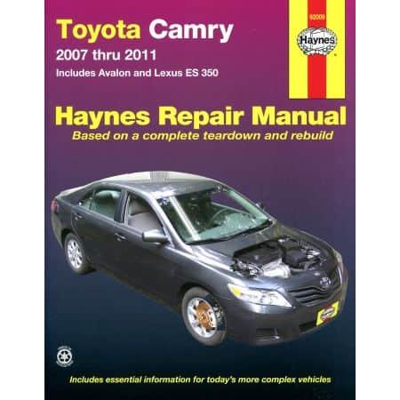 Camry Avalon ES 350 07-11 Revue Technique Haynes TOYOTA LEXUS Anglais