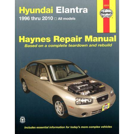 Elantra 96-13 Revue technique Haynes HYUNDAI Anglais