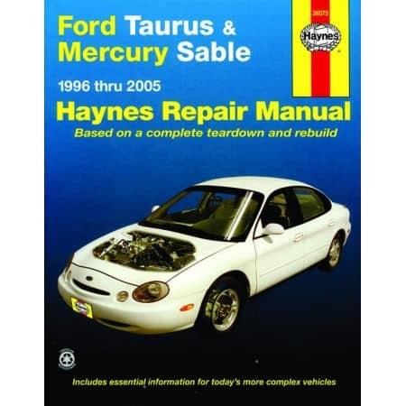 Taurus - Sable 96-07 Revue technique Haynes FORD MERCURY Anglais