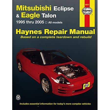 Eclipse Eagle Talon Revue Technique Haynes MITSUBISHI Anglais