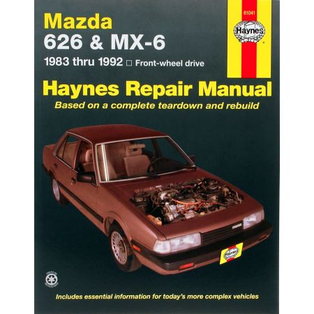 626 - MX-6 83-92 Revue Technique Haynes MAZDA Anglais