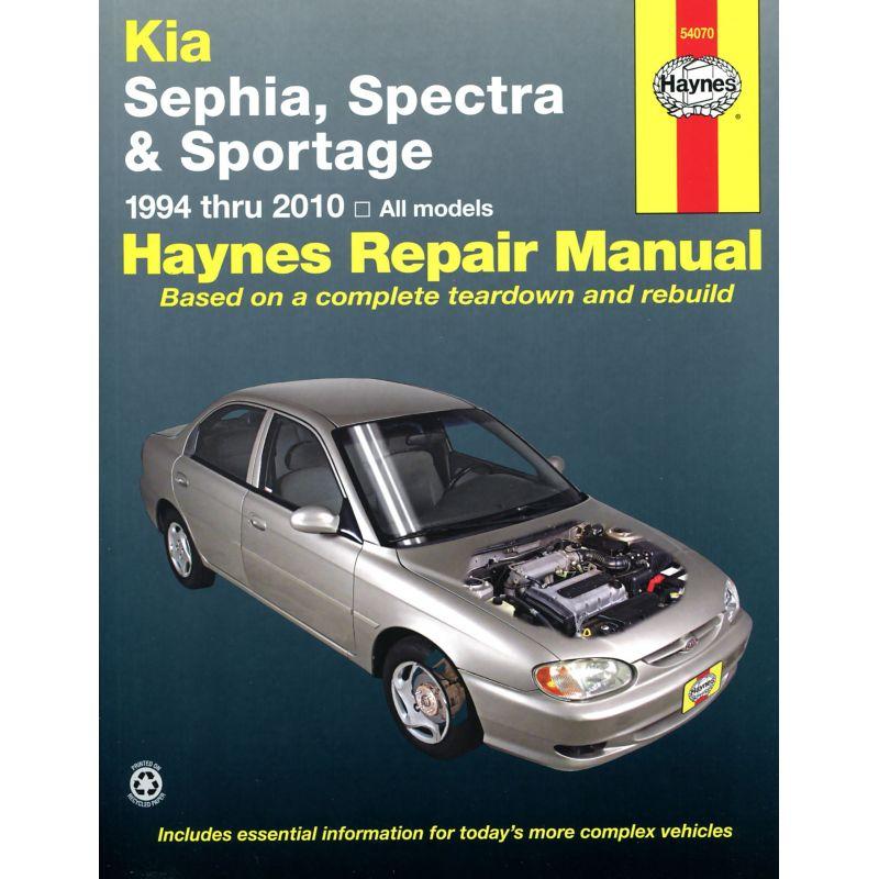 kia sephia 1994 2001 spectra 2000 2009 sportage 2005 2010 rth054070 revue technique haynes anglais. Black Bedroom Furniture Sets. Home Design Ideas