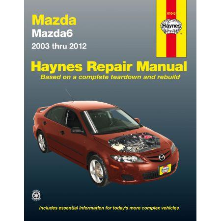 Mazda 6 03-13 Revue Technique Haynes MAZDA Anglais