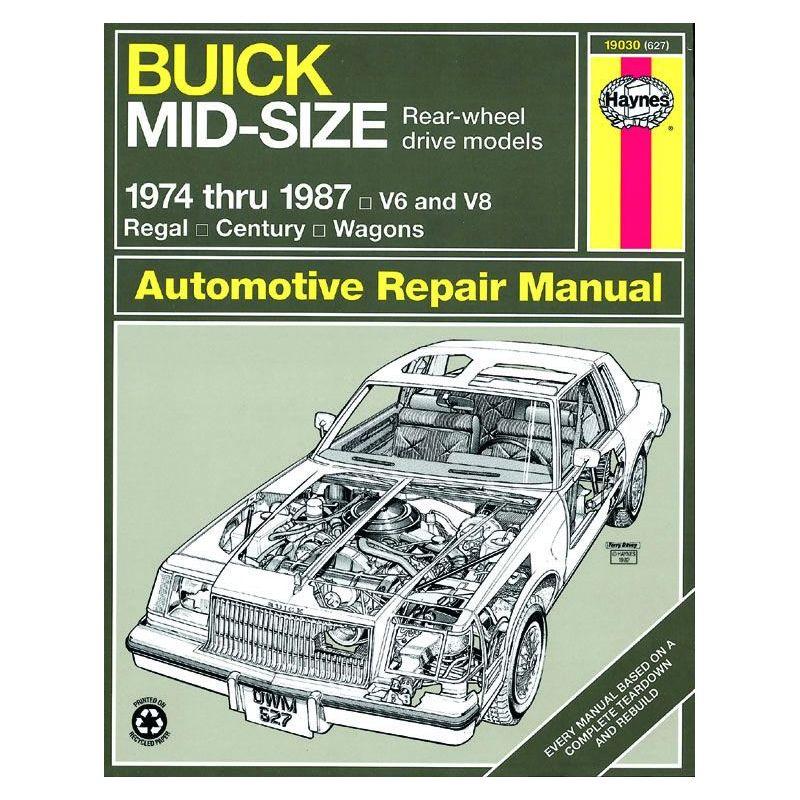 buick regal service manual