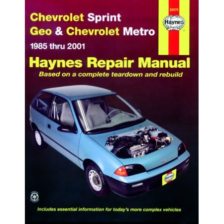 Sprint - Metro 85-01 Revue techniques Haynes CHEVROLET GEO Anglais