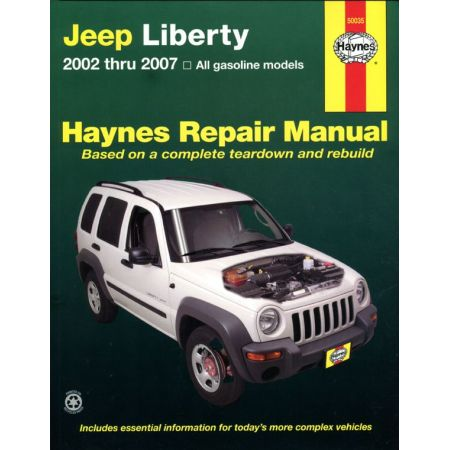 Liberty 02-12 Revue Technique Haynes JEEP Anglais