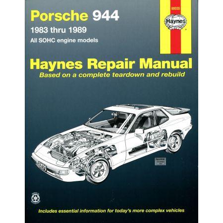 944 83-89 Revue Technique Haynes PORSCHE Anglais