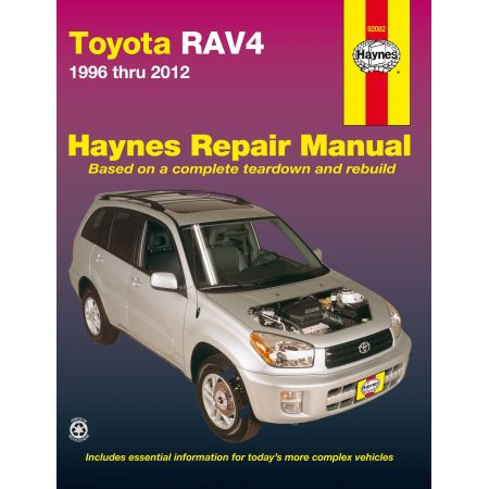 RAV4 96-12 Revue Technique Haynes TOYOTA Anglais