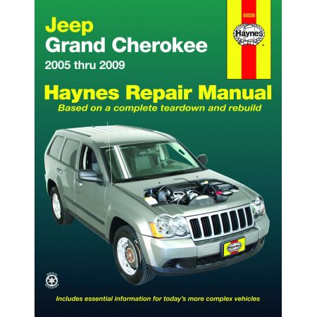 Grand Cherokee 05-14 Revue Technique Haynes JEEP Anglais