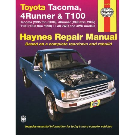 Tacoma 4 Runner T100 95-04 Revue Technique Haynes TOYOTA Anglais