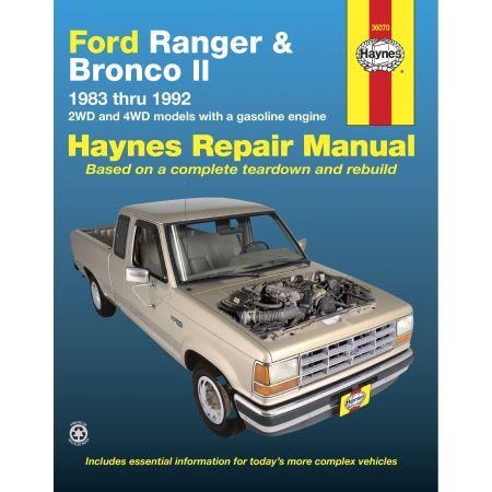Ranger Bronco II 83-92 Revue technique Haynes FORD Anglais