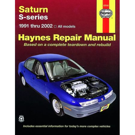 S-Series 91-02 Revue Technique Haynes SATURN Anglais