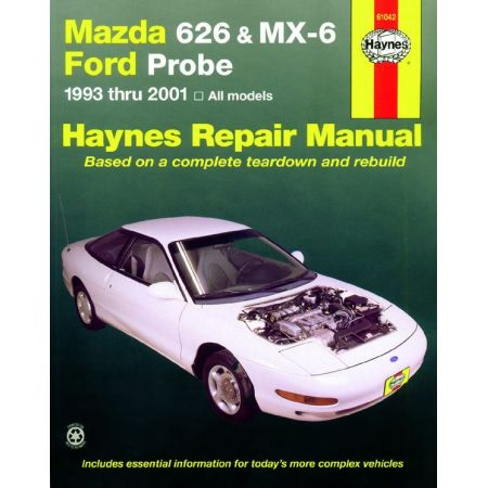626 93-02 MX-6 Probe 93-97 Revue Technique Haynes MAZDA FORD Anglais
