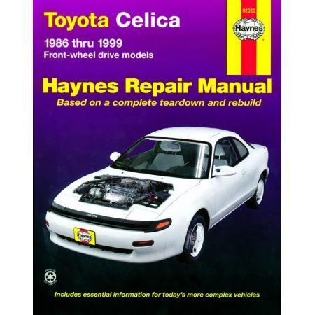 Celica 86-99 Revue Technique Haynes TOYOTA Anglais