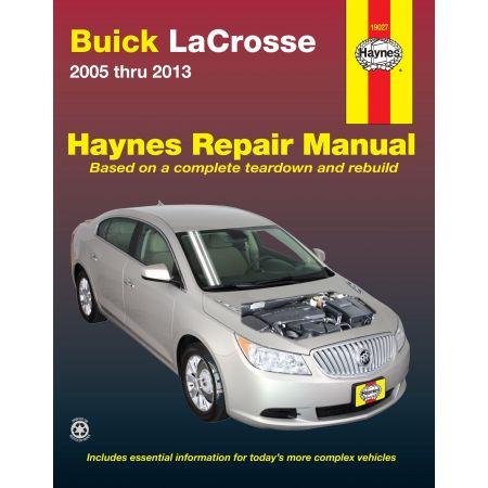 LaCrosse 05-13 Revue technique Haynes BUICK Anglais