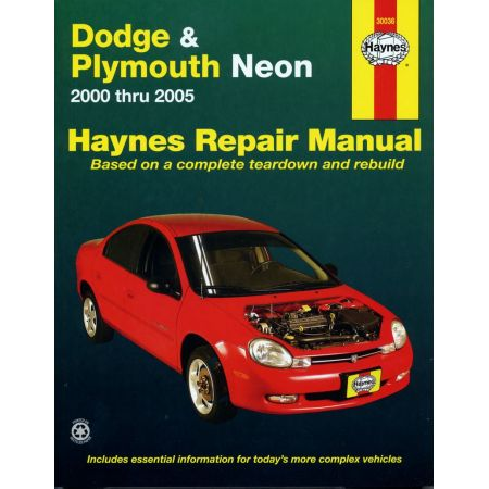 Neon 00-05 Revue technique Haynes DODGE PLYMOUTH Anglais